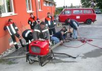 Feuerwehr: Zisterneneinsatz
