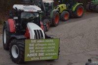 Demo-Treffpunkt am Sportheim