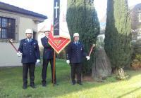 Feuerwehr Lülsfeld hielt Ehrenwache