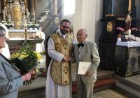 Ehrung für 67 Jahre im Kirchenchor