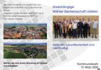 Kandidaten aus Lülsfeld für den Gemeinderat