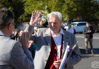 75 Jahre Trompeter in der Lülsfelder Musikkapelle - Ehrung für Richard Bördlein beim Herbstkonzert