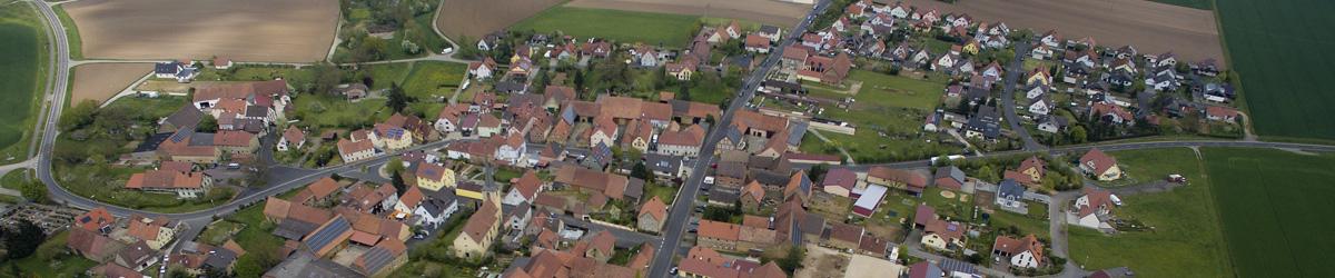 Blick auf Lülsfeld
